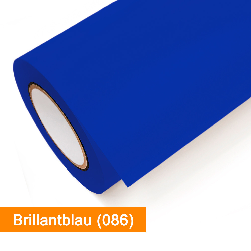 Plotterfolie Oracal - 651-086 Brillantblau - günstig bei SalierShop.de