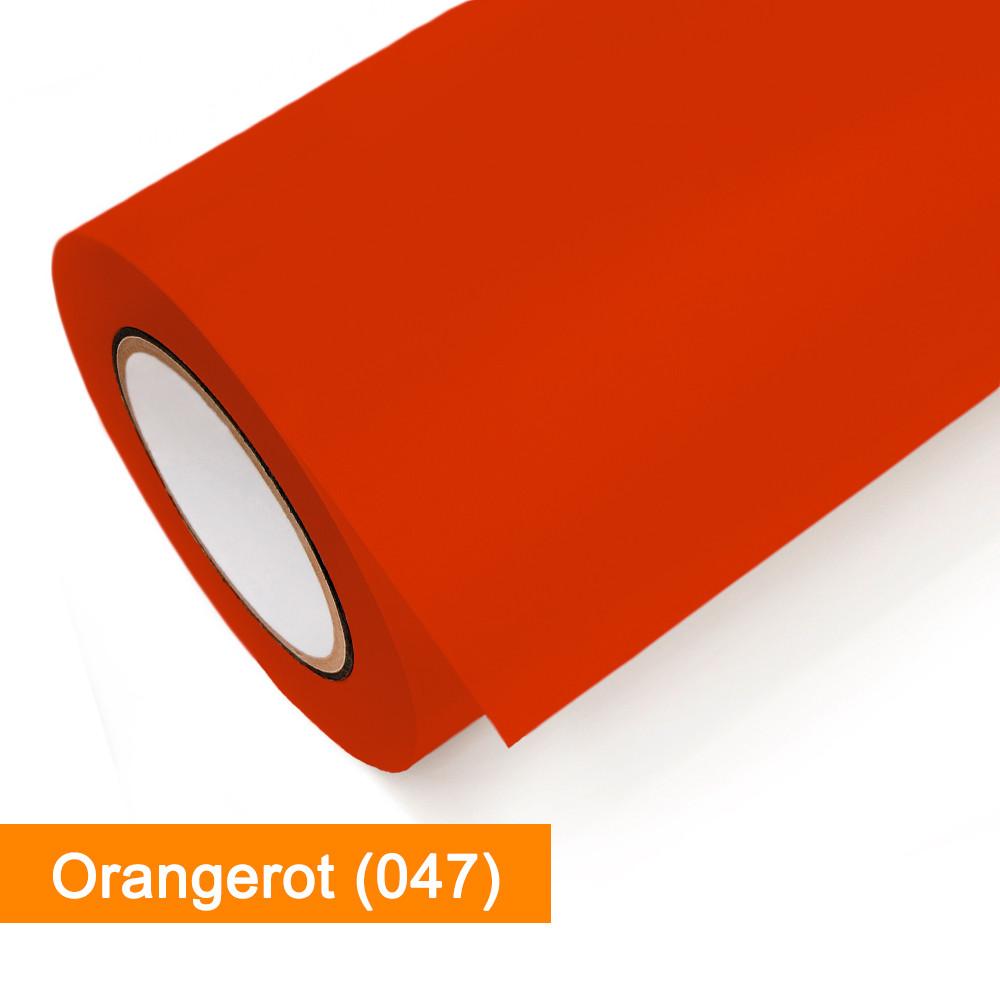 Plotterfolie Oracal - 751C-047 Orangerot - günstig bei SalierShop.de