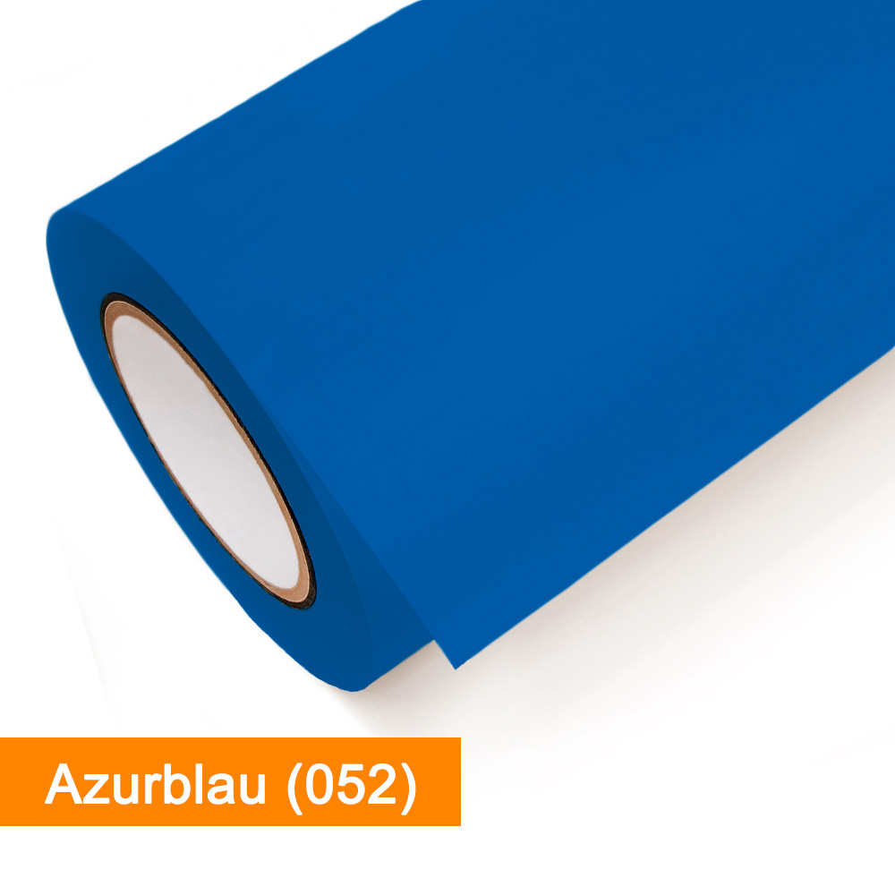Plotterfolie Oracal - 651-052 Azurblau - günstig bei SalierShop.de
