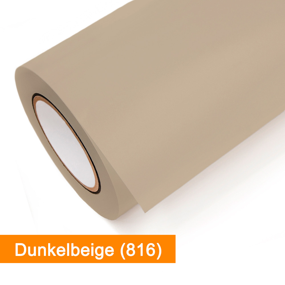 Plotterfolie Oracal - 631-816 Dunkelbeige - günstig bei SalierShop.de