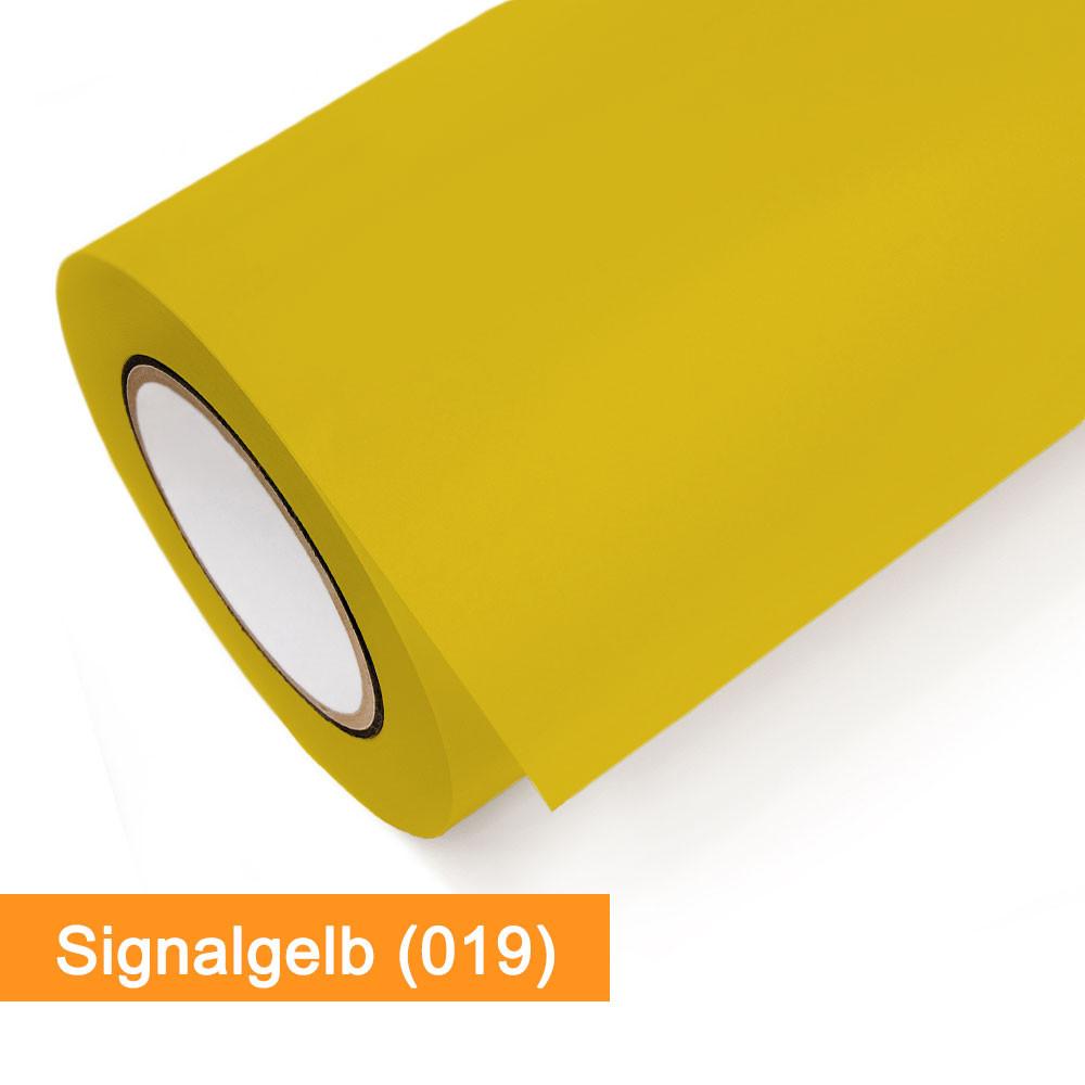 Plotterfolie Oracal - 651-019 Signalgelb - günstig bei SalierShop.de