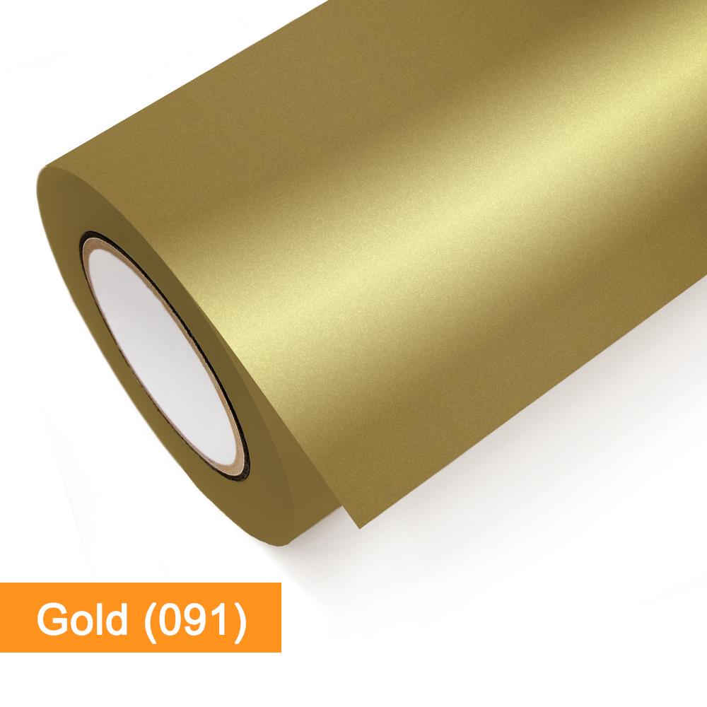 Plotterfolie Oracal - 651-091 Gold - günstig bei SalierShop.de