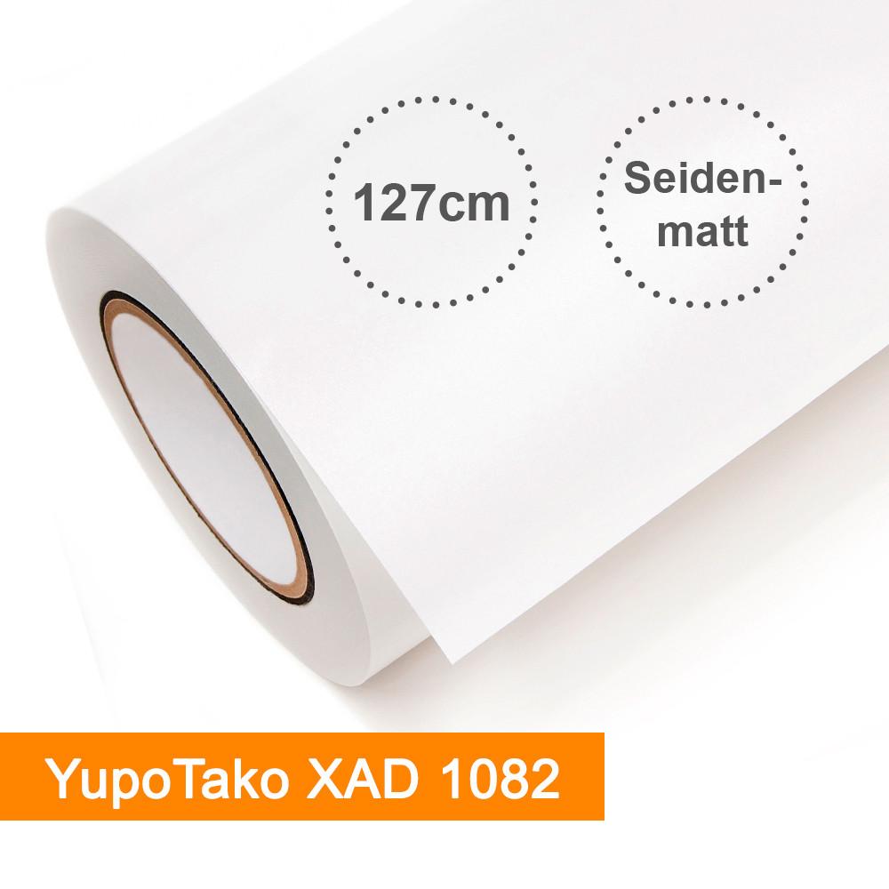 Digitaldruckfolie YUPO Tako XAD 1082 weiß seidenmatt - Rollenbreite 127cm - Rollenlänge 25m - SalierShop.de