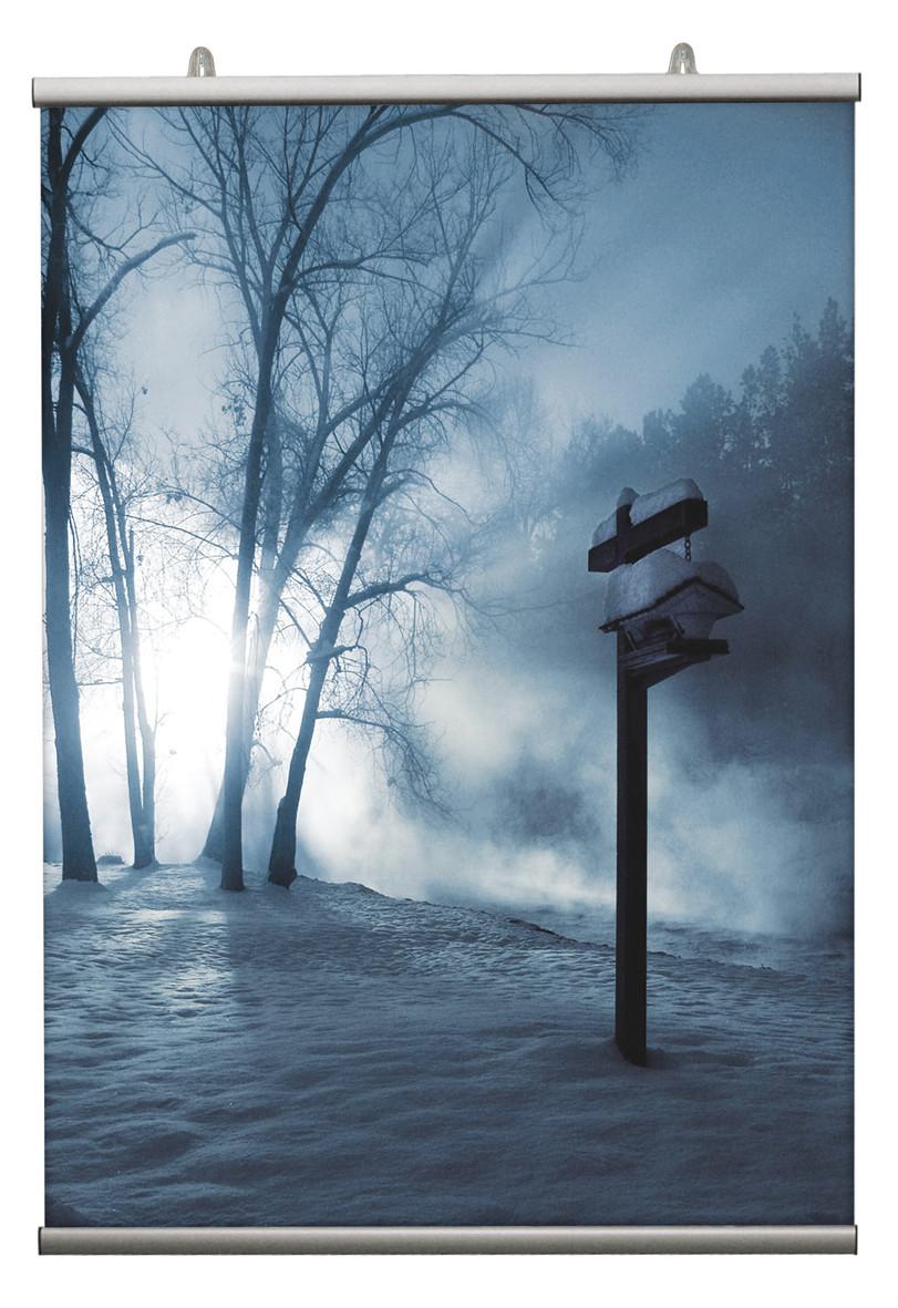 Poster-Klemmleiste Fast, Set, 600 mm