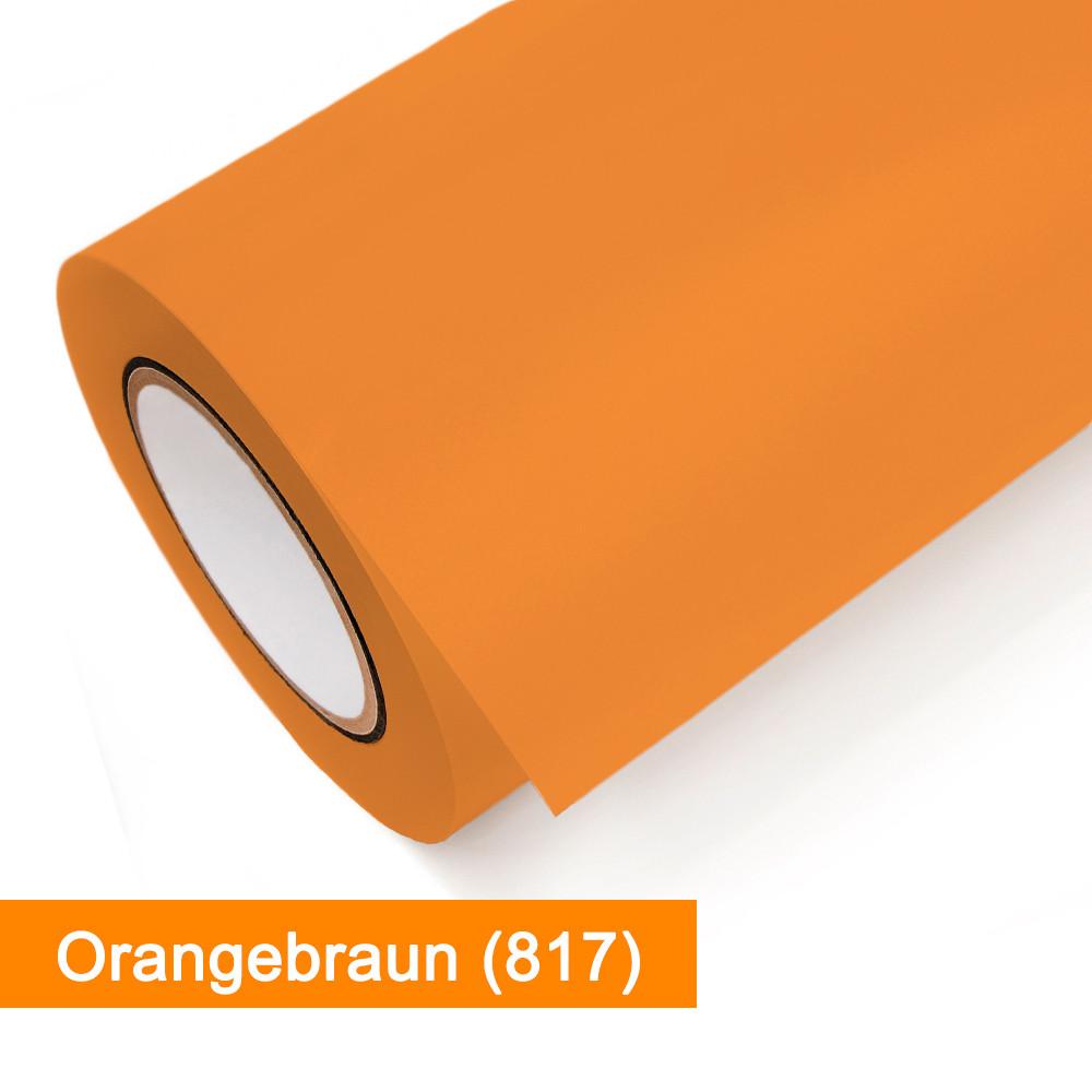 Plotterfolie Oracal - 631-817 Orangebraun - günstig bei SalierShop.de