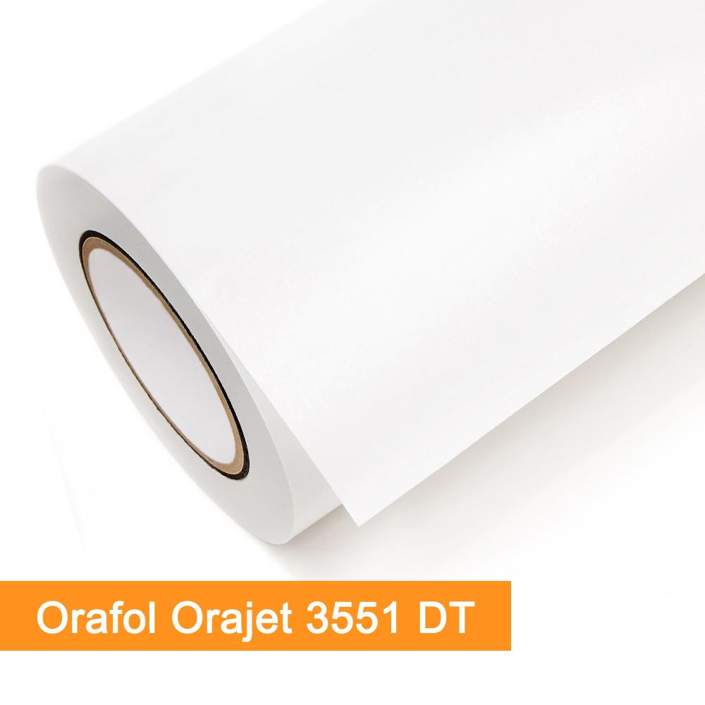 Digitaldruckfolie Orafol Orajet 3551DT weiss glänzend - Rollenbreite 137cm - Rollenlänge 50m - SalierShop.de
