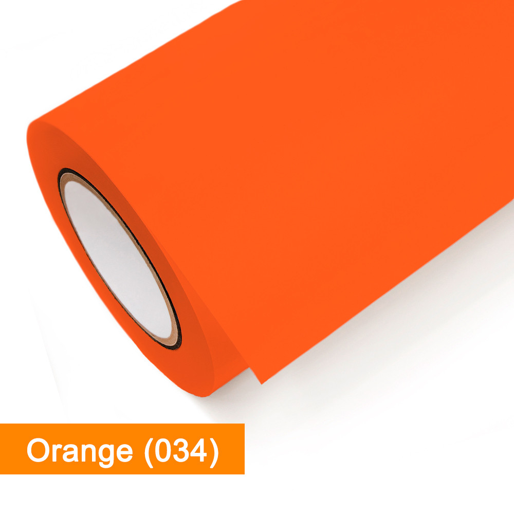 Plotterfolie Oracal - 751C-034 Orange - günstig bei SalierShop.de