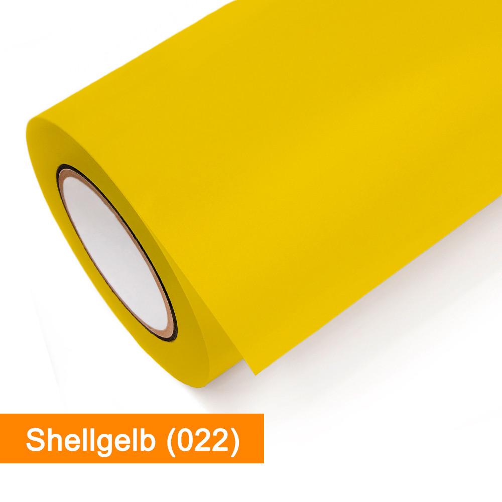 Plotterfolie Oracal - 651-022 Shellgelb - günstig bei SalierShop.de