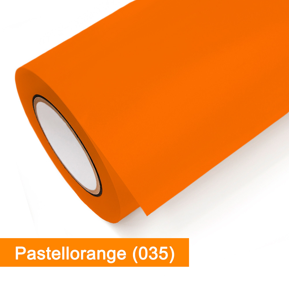 Plotterfolie Oracal - 751C-035 Pastellorange - günstig bei SalierShop.de