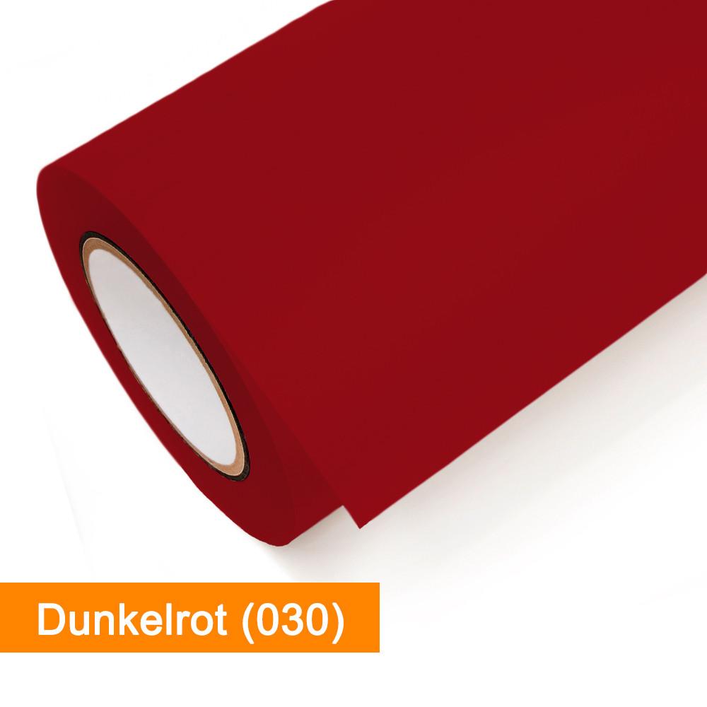 Plotterfolie Oracal - 651-030 Dunkelrot - günstig bei SalierShop.de