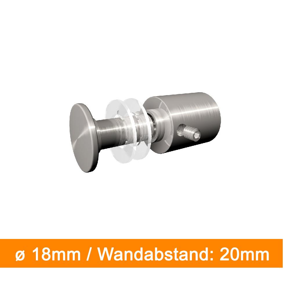 Abstandshalter ø 18mm / Abstand 20mm