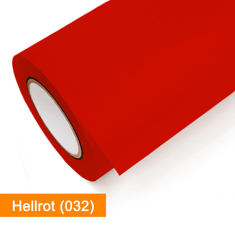 Plotterfolie Oracal - 751C-032 Hellrot - günstig bei SalierShop.de