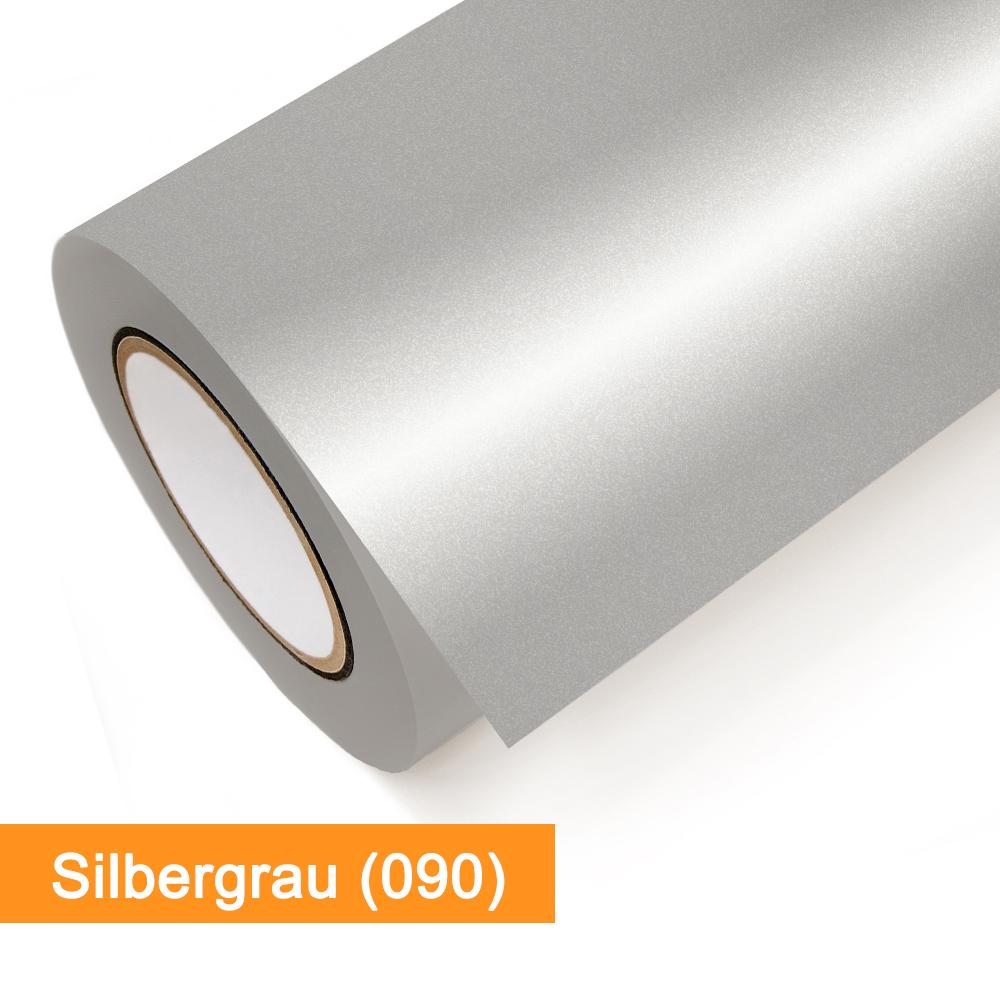 Plotterfolie Oracal - 651-090 Silbergrau - günstig bei SalierShop.de