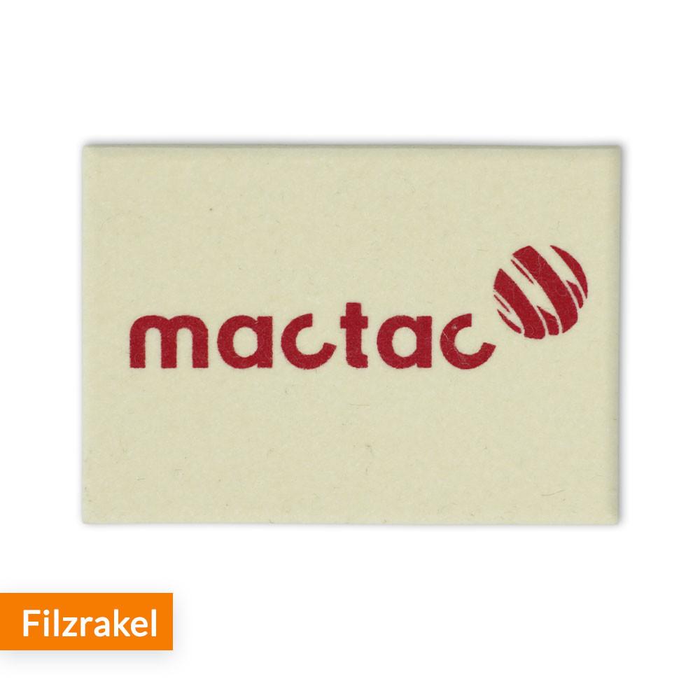 Filzrakel MacTac
