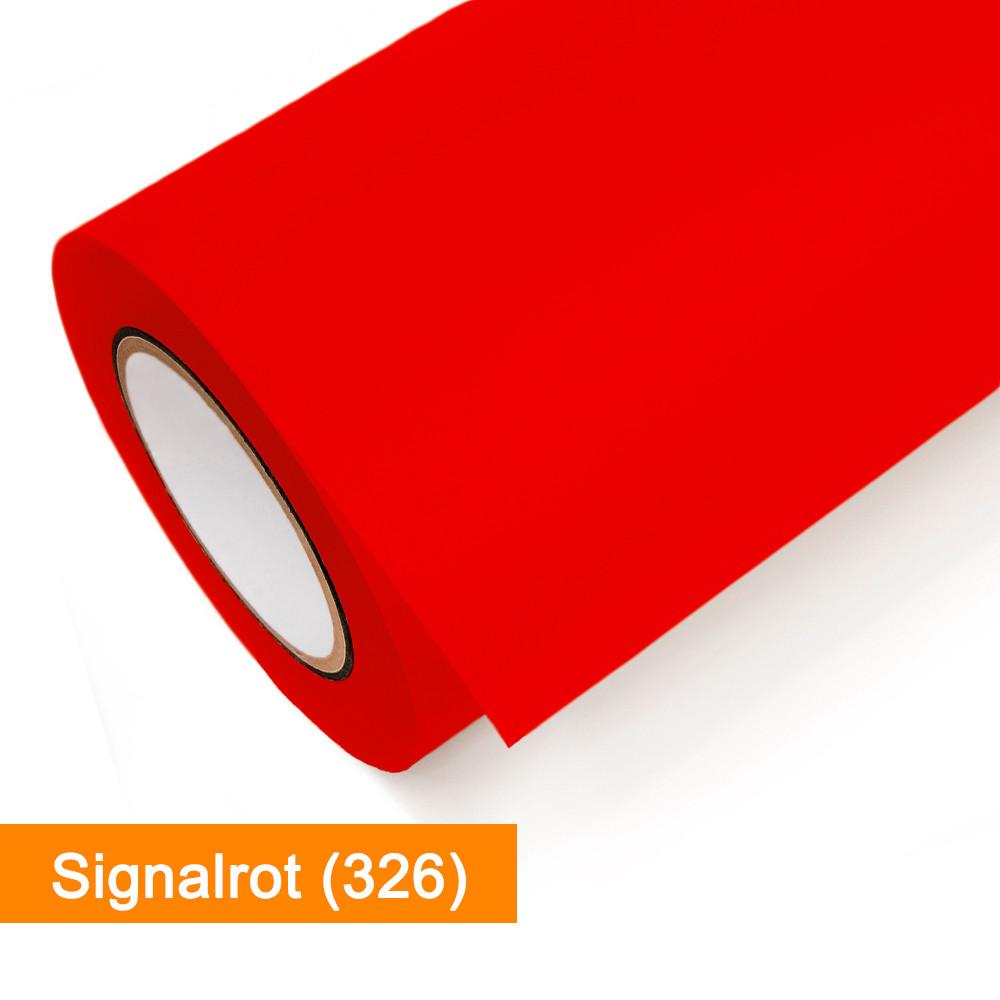 Plotterfolie Oracal - 751C-326 Signalrot - günstig bei SalierShop.de