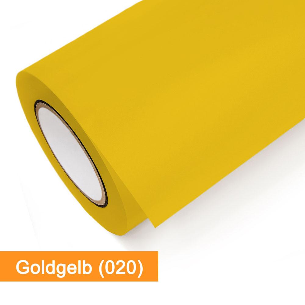 Plotterfolie Oracal - 751C-020 Goldgelb - günstig bei SalierShop.de