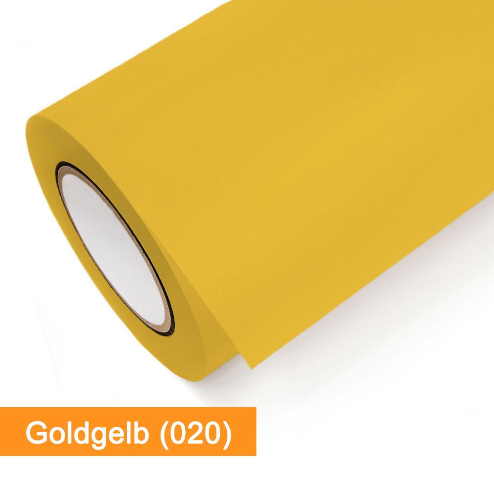 Plotterfolie Oracal - 651-020 Goldgelb - günstig bei SalierShop.de