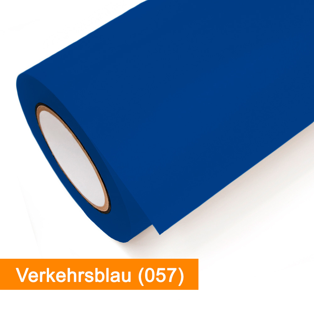 Plotterfolie Oracal - 631-057 Verkehrsblau - günstig bei SalierShop.de