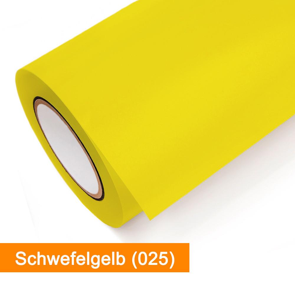 Plotterfolie Oracal - 651-025 Schwefelgelb - günstig bei SalierShop.de
