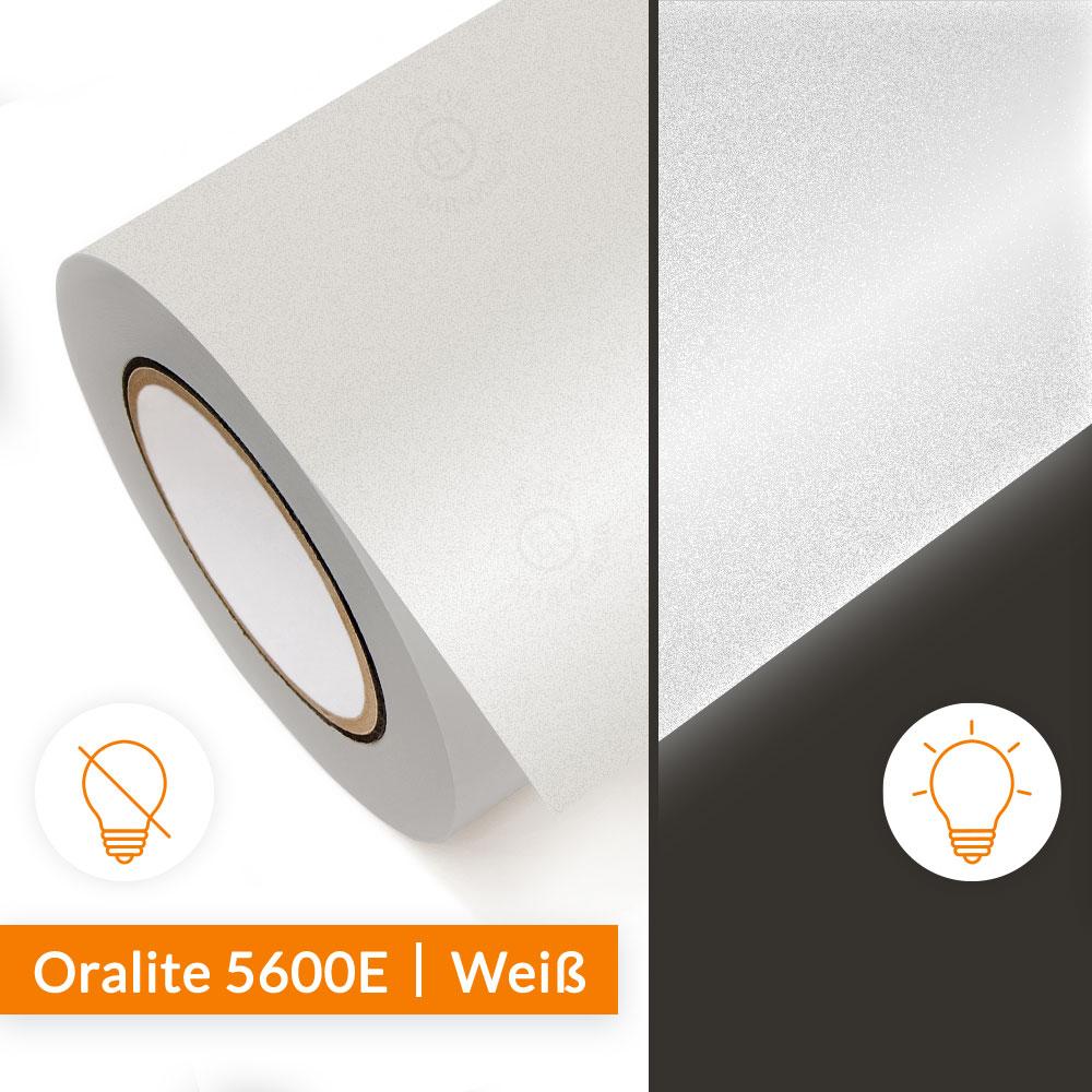 Reflexfolie Orafol Oralite 5600E Weiß - SalierShop.de